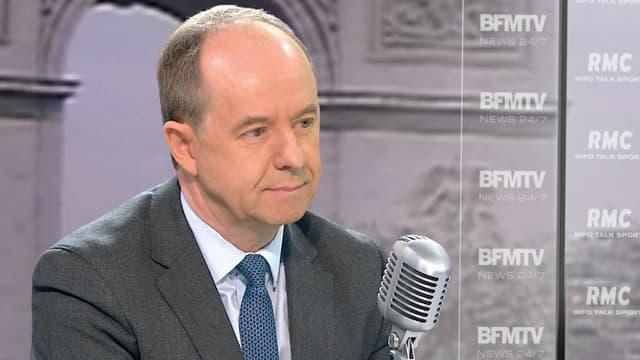 Jean-Jacques Urvoas mercredi sur BFMTV.
