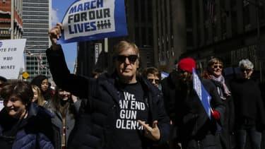 Paul McCartney à New York lors de la marche contre les armes à feu