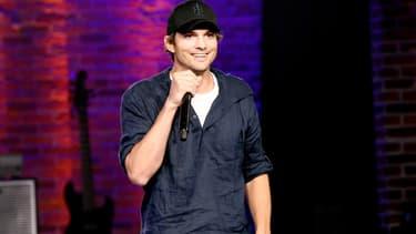 Ashton Kutcher en septembre 2018