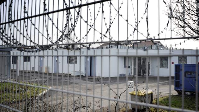 Le centre de rétention situé à proximité de l'aéroport de Lyon (Photo d'illustration).
