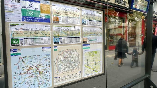 Les anciens abris parisiens vont disparaître d'ici fin 2014.