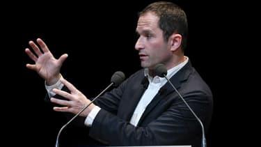 Benoît Hamon a présenté lundi l'organigramme de son mouvement.
