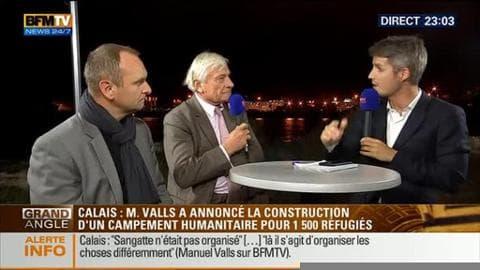 """Edition spéciale Calais: """"La police a l'impression d'être le dernier rempart pour faire face à l'afflux des migrants"""", Bruno Noël"""