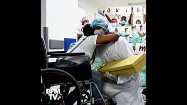En Colombie, un homme fait sa demande en mariage à l'hôpital à sa compagne guérie du coronavirus