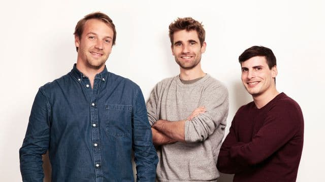 Thibaud Hug de Larauze, Vianney Vaute et Quentin Le Brouster, ont fondé Back Market en 2015
