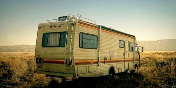 Le fameux camping-car.