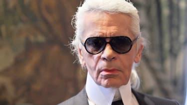 Karl Lagerfeld, le 19 mai 2011
