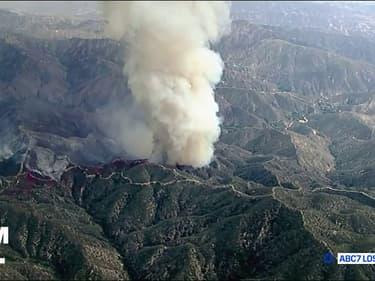 Les images des impressionnants feux de forêts en Californie