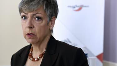 Marie-France Moneger, la directrice de l'IGPN, le 21 mai 2015.
