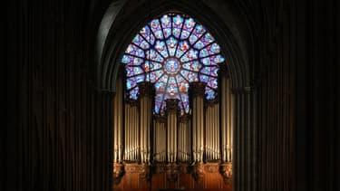 L'orgue de Notre-Dame de Paris.