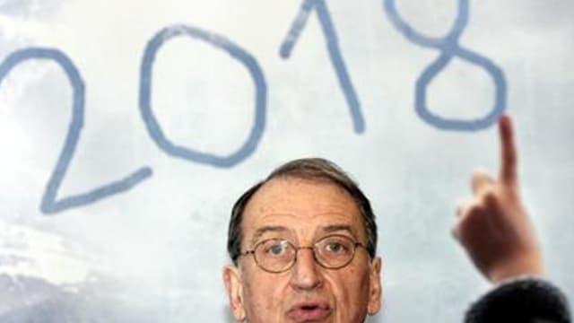 Denis Masseglia, patron du CNOSF et grand perdant de ces dernières semaines agitées de la candidature savoyarde