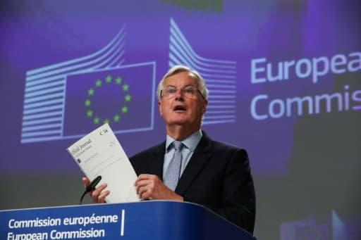 le négociateur européen Michel Barnier, le 5 juin 2020 à Bruxelles