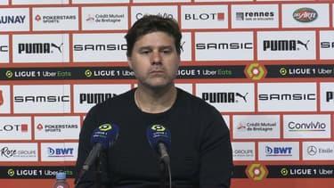 Mauricio Pochettino après Rennes-PSG