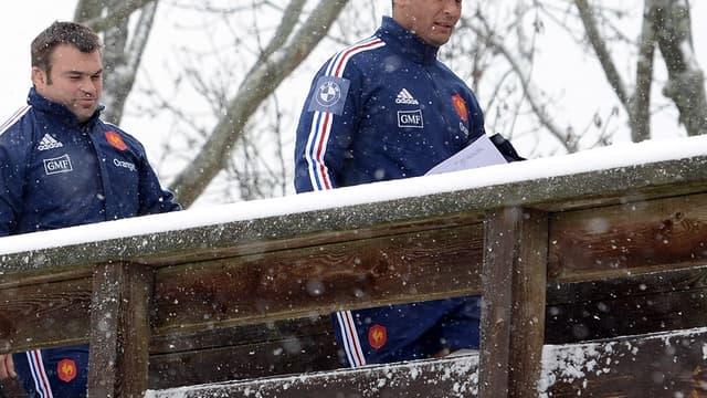 Nicolas Mas et Thierry Dusautoir