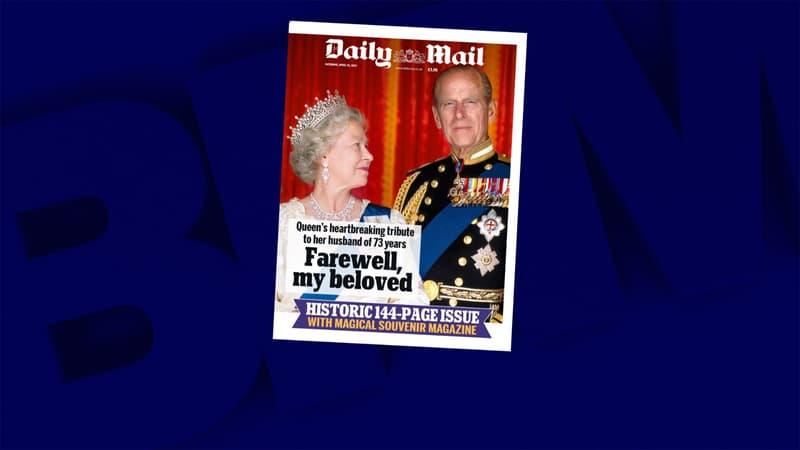 """La presse britannique rend hommage à l'""""indomptable"""" prince Philip"""