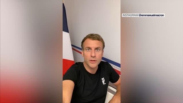 Emmanuel Macron a adressé un message sur la vaccination sur TikTok et Instagram