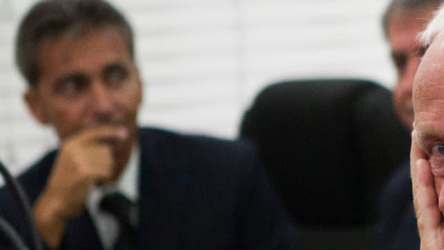 Alain Castany durant son procès à Saint-Domingue, le 9 mars 2015.