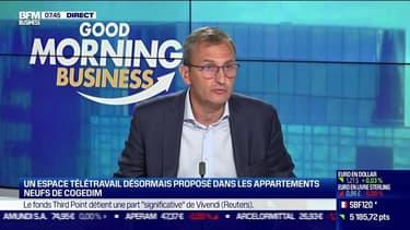 Vincent Ego (Cogedim) : Un espace télétravail désormais proposé dans les appartements neufs de Cogedim - 15/06