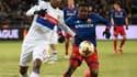 Marcelo (Lyon) au duel avec Musa (CSKA Moscou)