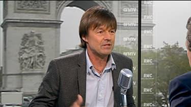 Nicolas Hulot sur le plateau de Jean-Jacques Bourdin, jeudi 11 octobre 2012