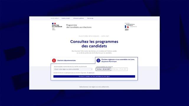Le ministère de l'Intérieur a mis en ligne l'ensemble des professions de foi communiquées par les candidats aux départementales et aux régionales.