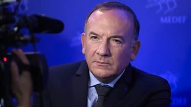 Le président du Medef Pierre Gattaz verra son mandat échoir l'été prochain
