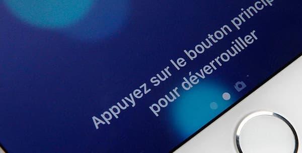Le nouveau bouton Touch ID ne s'enfonce plus, il offre un retour haptique.
