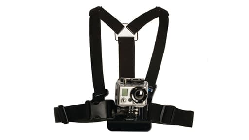 Une caméra Go Pro sanglée du même modèle que celle utilisée par Mohamed Merah.