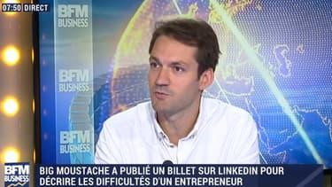 Ce vendredi 21 octobre, Nicolas Gueugnier était sur le plateau de Good Morning Business