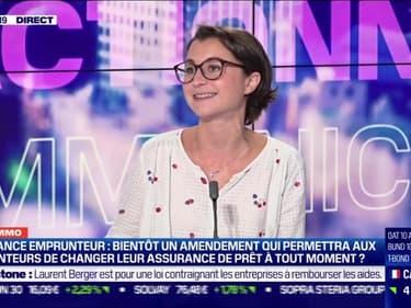 Marie Coeurderoy: Assurance emprunteur, bientôt un amendement qui permettra aux emprunteurs de changer leur assurance de prêt à tout moment ? - 22/09