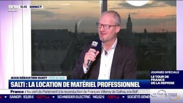 Jean-Sébastien Guiot (Salti) : Salti, la location de matériel professionnel - 21/10