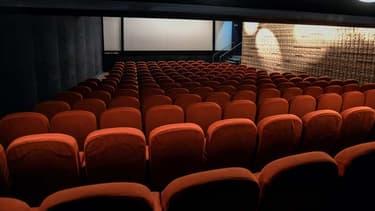 Le cinéma Saint Andre des Arts à Paris, le 6 mai 2020.