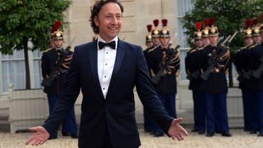 Stéphane Bern à l'Élysée le 6 juin 2014