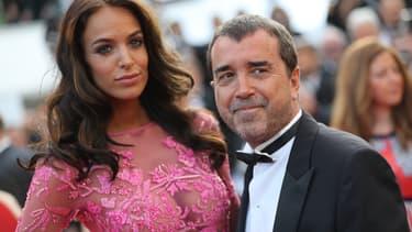 Jade Foret et Arnaud Lagardère au Festival de Cannes 2017