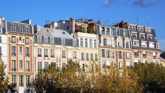 Malgré des prix en hausse en Ile-de-France les banques croulent sous les demandes de prêts immobiliers.