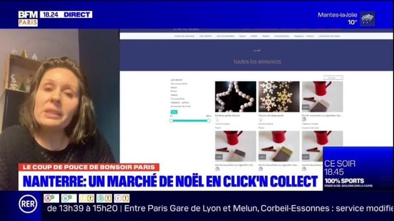 Le coup de pouce de BFM Paris: le marché de Noël de Nanterre passe au Click and Collect