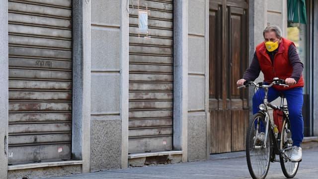 Codogno, en Italie le 11 mars 2020.