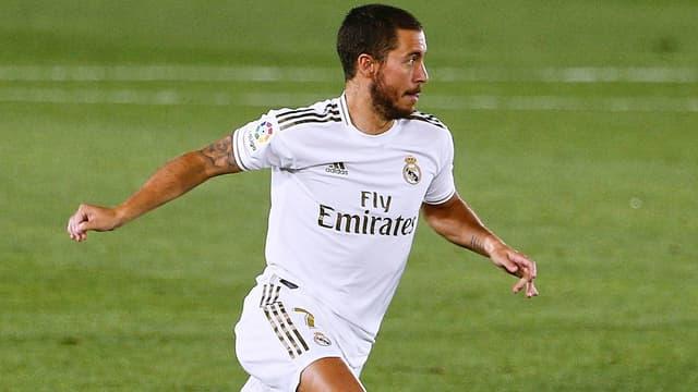 Eden Hazard n'a disputé que 16 matches de Liga avec le Real.