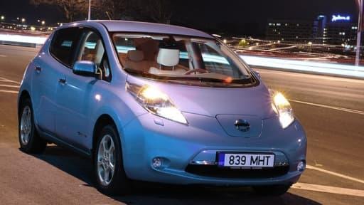 La Nissan Leaf, 100% électrique, est le véhicule le plus vendu en Norvège en octobre.