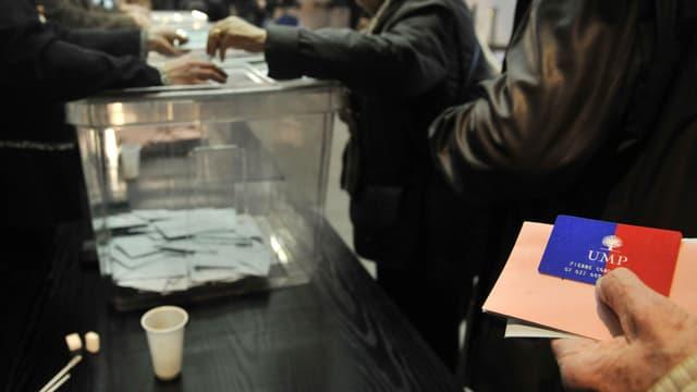 Vote pour le président de l'UMP, le 18 novembre 2012.