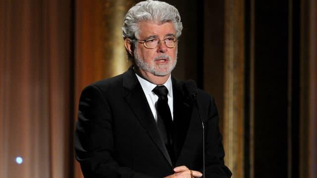 Le réalisateur américain George Lucas.