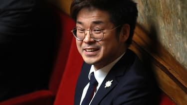 Joachim Son-Forget à l'Assemblée nationale le 21 février 2018.