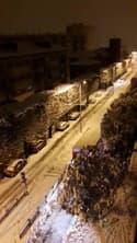 Épisode neigeux à Saint-Étienne - Témoins BFMTV