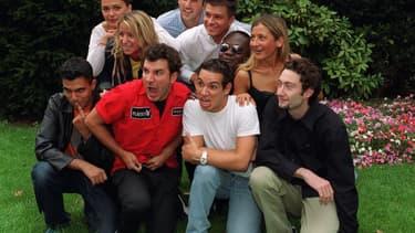 """L'équipe du """"Morning Live"""" en 2001"""