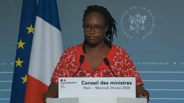 Sibeth Ndiaye, porte-parole du gouvernement, le 24 juin 2020.