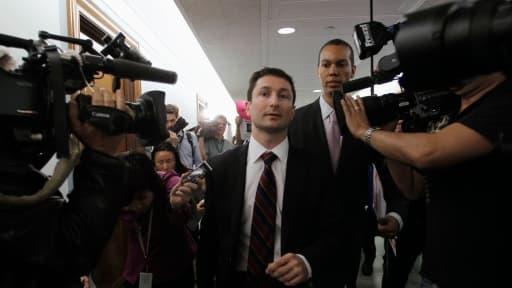 Le procès de Fabrice Tourre, ici, en 2010, est considété comme celui des subprimes