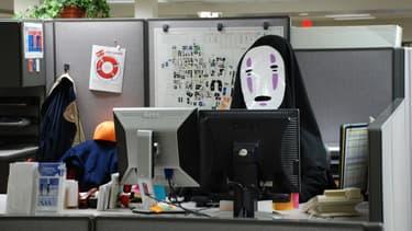 L'entreprise Handan, dans le nord de la Chine, a autorisé ses salariése à porter un masque toute une journée au travail (Photo d'illustration)