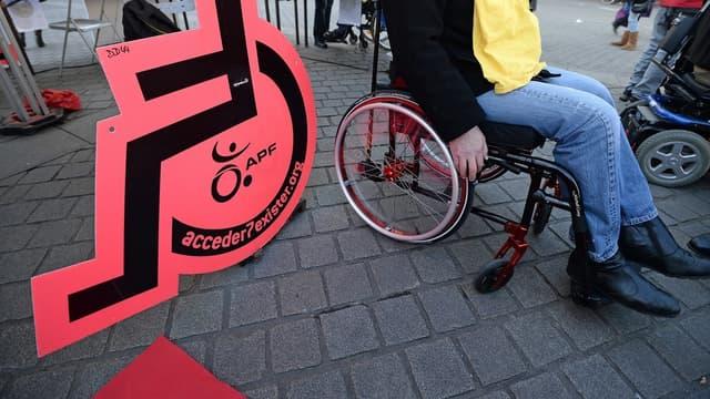 Le taux de chômage des travailleurs handicapés dépassent les 20%.