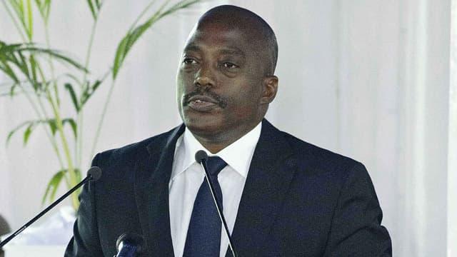 Le président de la République Démocratique du Congo, Joseph Kabila, le 24 février 2016.