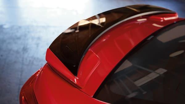 Le modèle présenté à New York pourrait différer à l'arrière, avec l'arrivée probable d'un hayon.